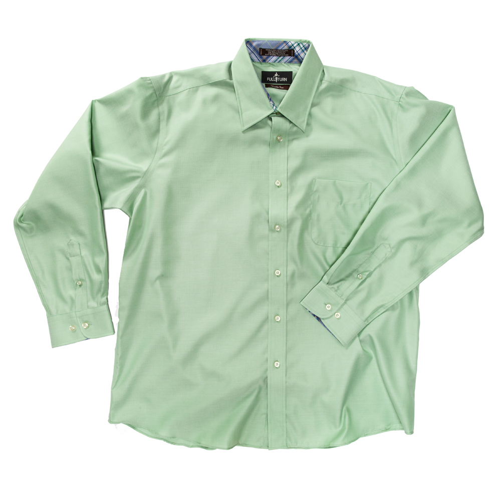 MEN'S SPORT SHIRT at Troon Corporate in NAUTICAL BLUE, ORCHID, TURF